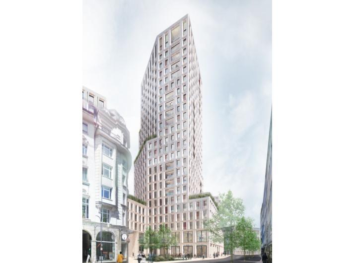 Architekturbüros Frankfurt architekturbüro max dudler gewinnt ideenwettbewerb für wohnhochhaus