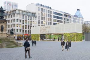 Architektursomme Rhein-Main 2015 Pavillon Goetheplatz Roßmarkt