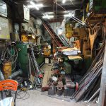 Blick in eine Werkstatt