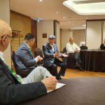Gespräch mit dem Vorsitzenden der Sewoon Citizen Association